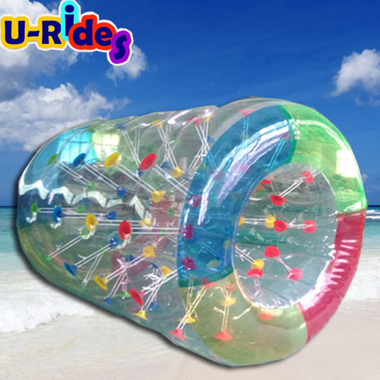 Colorful Inflatable Water Walking Roller barrel