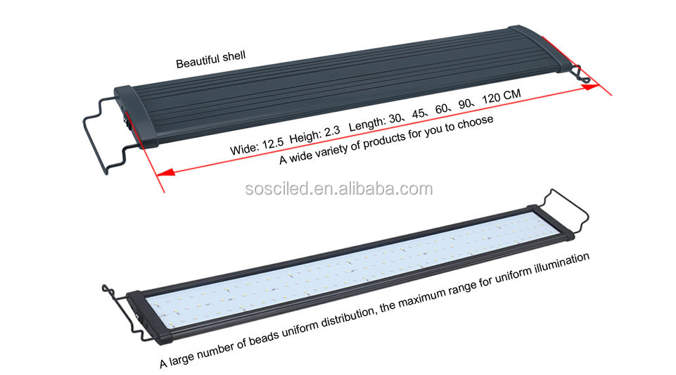 9-38w Led Plant Grow Light With Full Spectrum