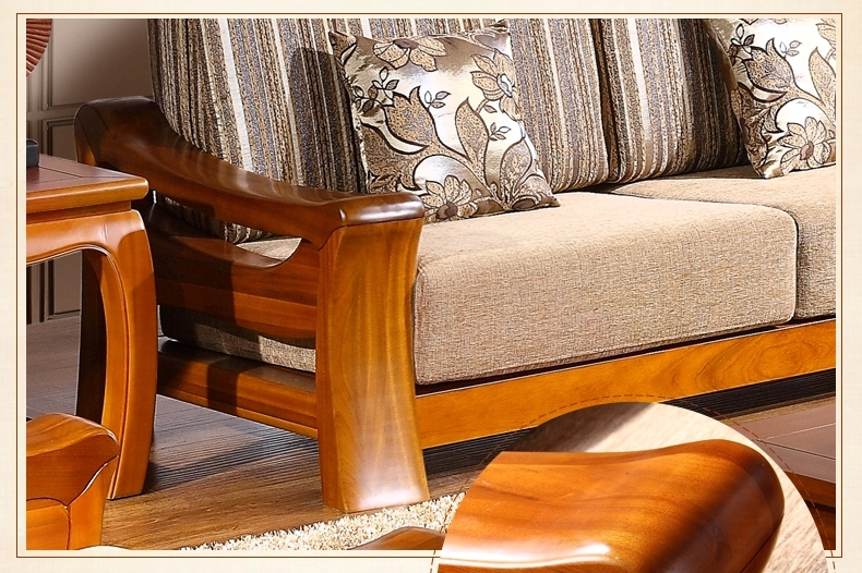 Teak Wood Sofa Set Design For Living Roomliving Room Furniture - Teak wood sofa set designs