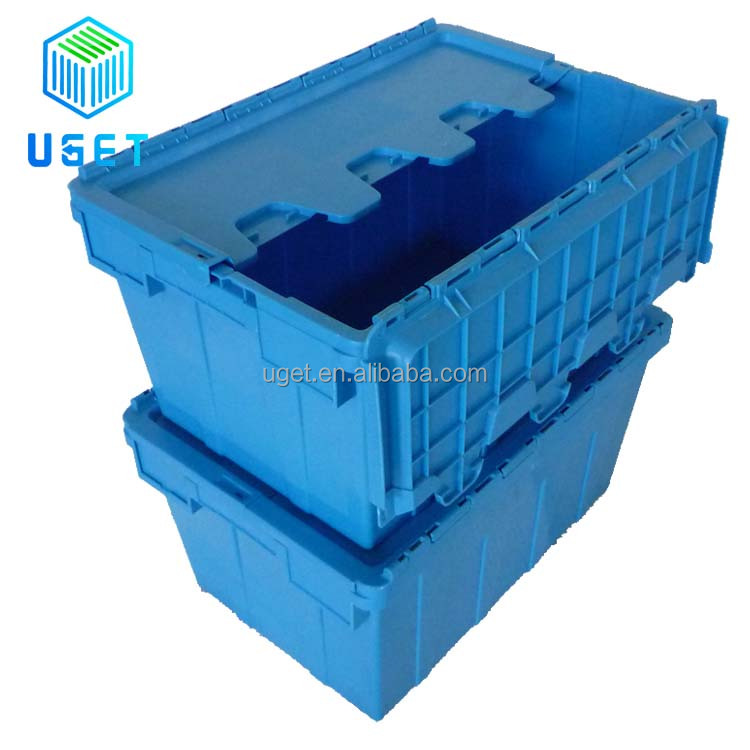 Multipurpose 90L Large Nest Removal Plastic Shipping Box Electronic Security Crate with Lock
