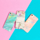 cell phone accessories full bumper IMD Print holo Laser glossy marble 2019 new arrivals mobile case covers for iphone X case