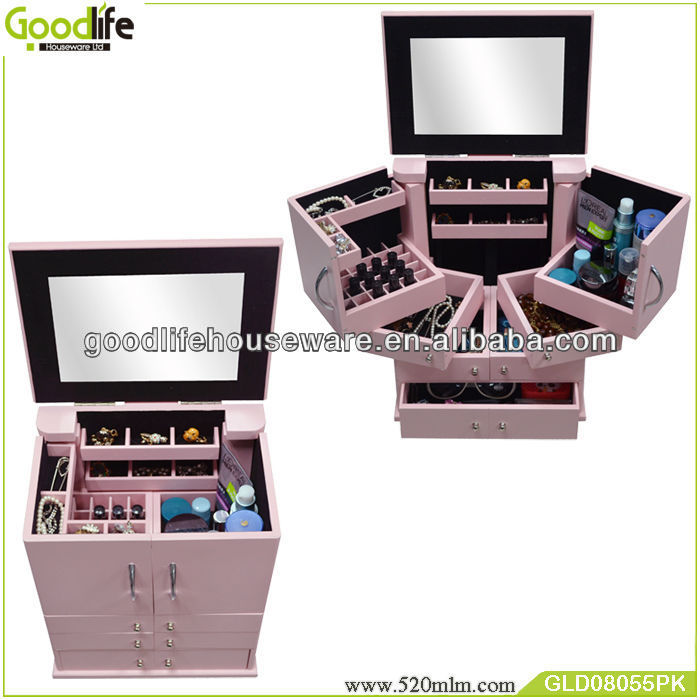 Great Storage Idea Amazing Jewelry Makeup Case For Women Of All Ages - Buy  Jewelry Makeup Case,Round Bedroom Set,Elegant Bedroom Sets Product on ...
