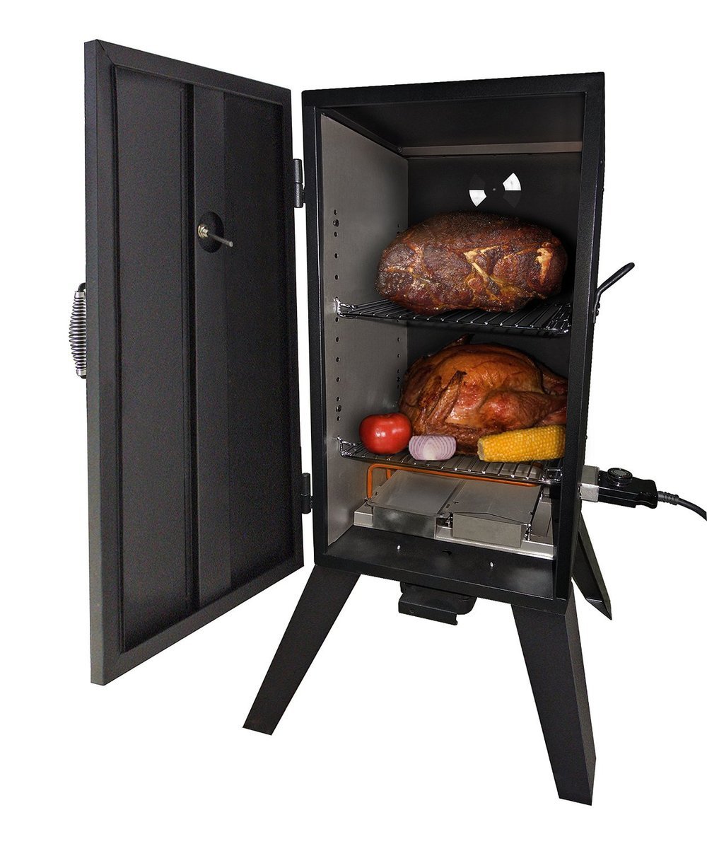 Vertical Electric Meat Smoker Refrigerator Bbq Grill