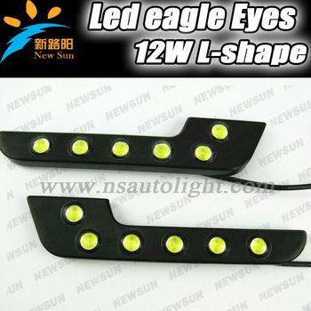 L/7/f Shape Daytime Running Light Car Led Daylight/backup Tail ...