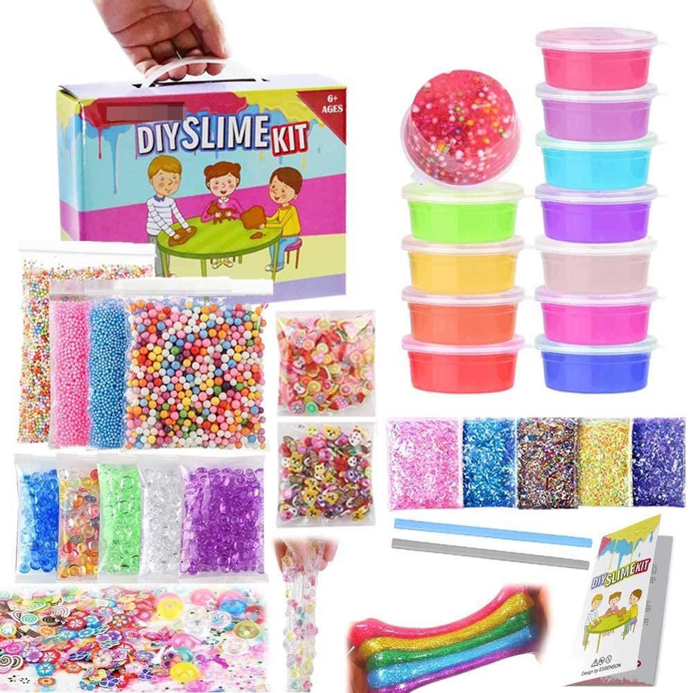 Slime Kit Slime Supplies Slime Making Kit For Girls Boys Kids - Buy Diy  Slime Set,Slime Making Kit,Slime For Boys And Girls Product on Alibaba com