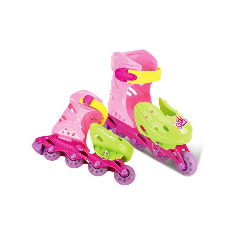 90274af93 أحذية التزلج رياضة ألعاب للأطفال الأسطوانة حذاء تزلج حذاء تزلج الاطفال  البلاستيكية