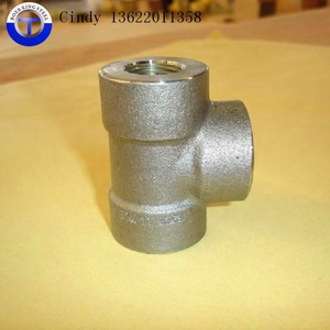 CS A105 SS 317L MSS SP-83 9000lbs 6000lbs 30000lbs thread fittings 90degree Elbow Tee Union Cap Coupling Street elbow
