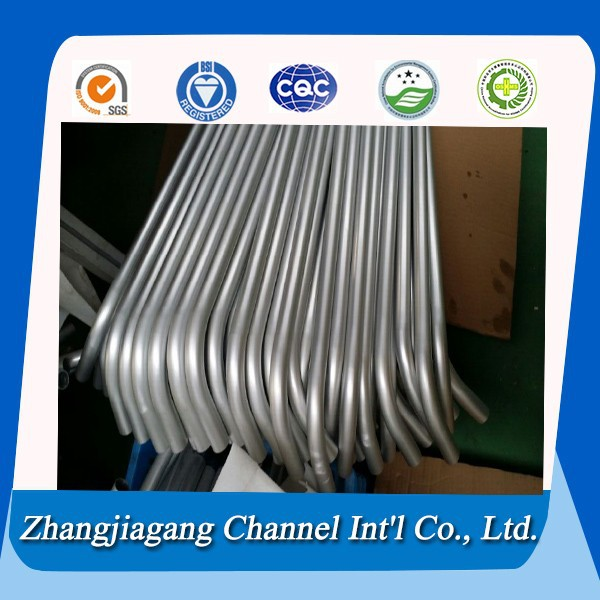 Chinese polished aluminium 7075 t6 tube aluminium triangle tube