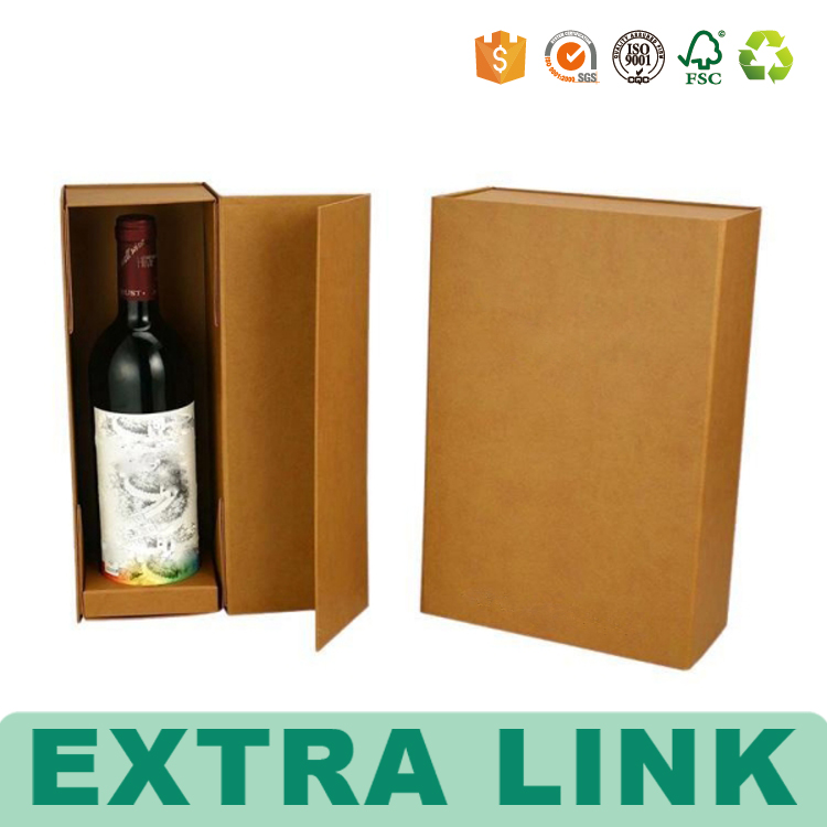 Colored Deluxe Two Piece Wine Boxes