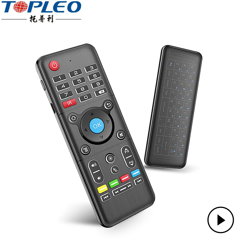 Telecomando H1 Thouch tastiera + telecomando + air mouse 3-in-funzioni 2.4 GHz wireless keyboard e mouse combo