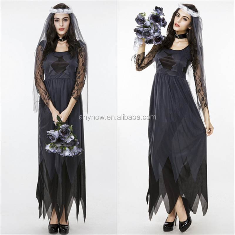 Graceful Lace Halloween Carnival Ghost Bride Dress Costume Buy