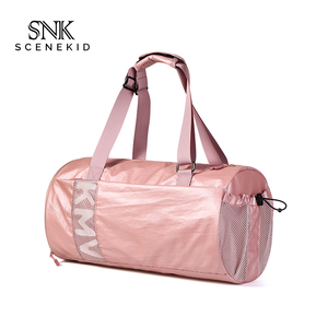 afc7f88b57b1 Foldable Travel Duffle Bag Waterproof Sports Gym Duffel Bag Polyester With  Shoes Compartment