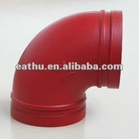 Ductile iron groove lock fittings