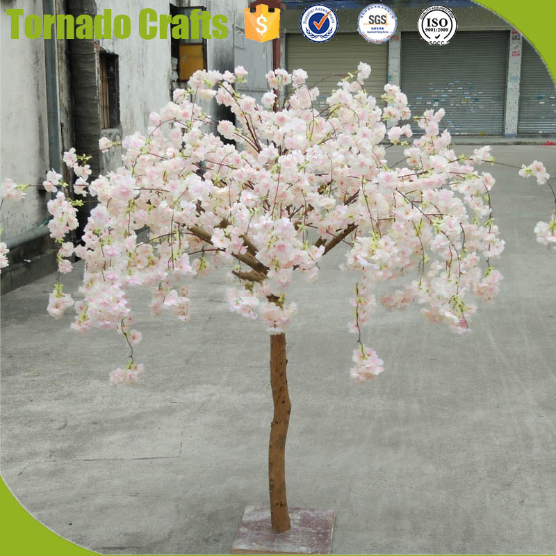 TC 20170904 6ft Hanging fake cherry flower blossom trees for wedding table decor