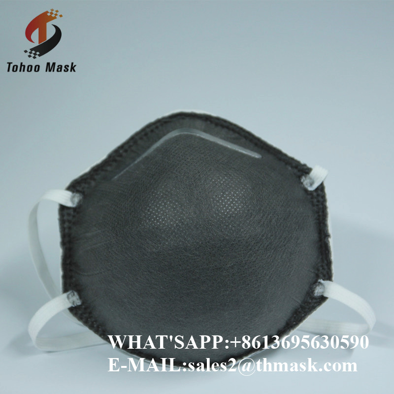 4ply kn90 n95 disposable black fit testing breathing mask