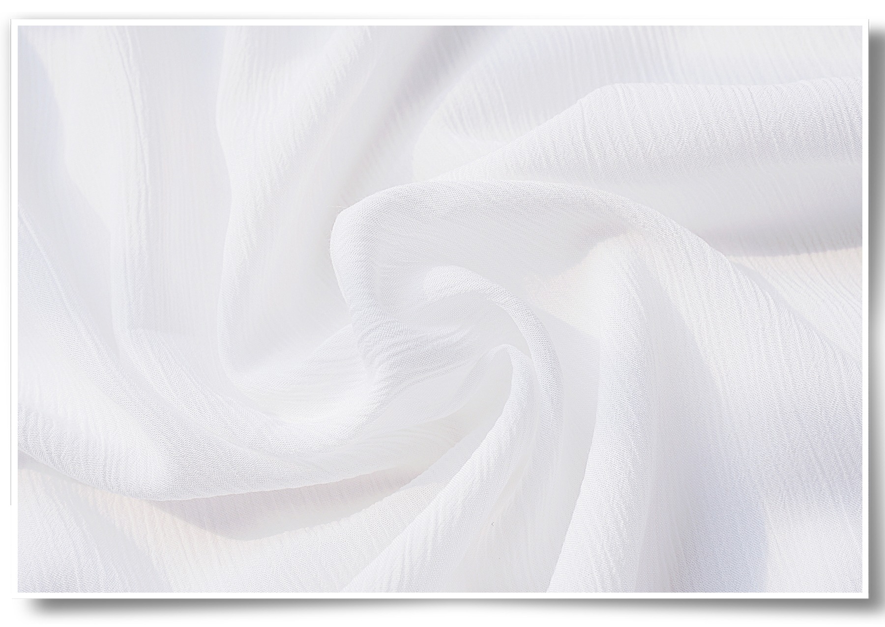 Most popular crepe 100% rayon cord rfd fabric white meaning