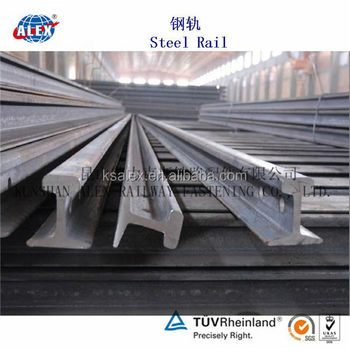 Railroad Steel Track, Steel Track Fastening Parts, Steel Track Supplier China