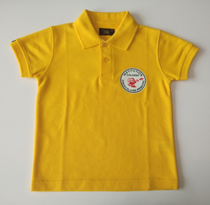 Primary school uniform designs children polo shirt for kids