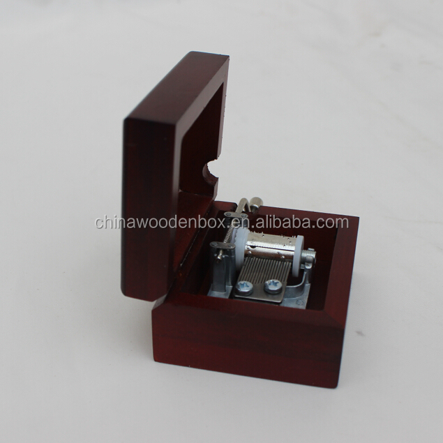 High quality Cheap 18 note Wooden Music Box