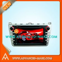 "NEW Car Special DVD GPS Player for MAZDA 6 / 8"" Touch Screen / Bluetooth / Audio / USB / 3D MENU,with a map"