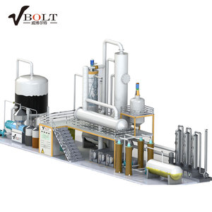 Automatic Car Oil Treatment Plant For Base Oil