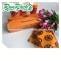 Direct factory price paper meal box with logo
