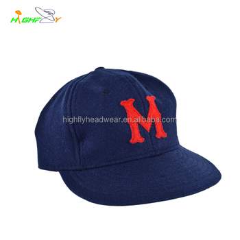 top quality wool melton real leather strap blank 6 panel unstructured polo  snapback cap and hat 18ae7b49983