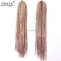 Afro kinky twist braid micro braid synthetic hair extensions