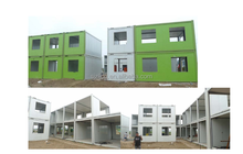 prefab cottage kits High Quality Luxury Container House China New Design triple wide mobile homes