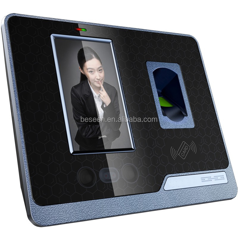 face time attendance access control WIFI biometric fingerprint reader with camera