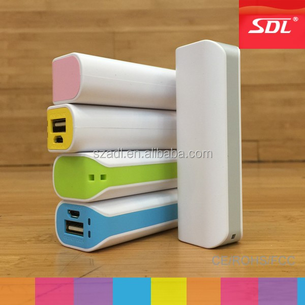 Power bank charger 2600mAh OEM factory manufacturer
