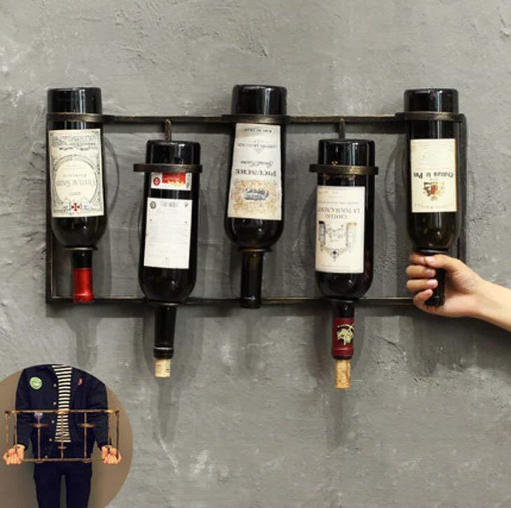 FAFZ Wine Holder Storage Rack,Wine Rack, Wine Bottle Rack,Red Wine Stand, Wooden Wine Rack, Wine Bottle Rack,Wine Racks,Wine Stoppers (Size : L59.5W27CM)