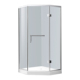 Diamond Shape Bathroom Tempered Glass Shower Cabin Room