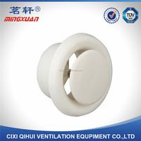 Hvac system decorative air round vent air diffuser for fresh air