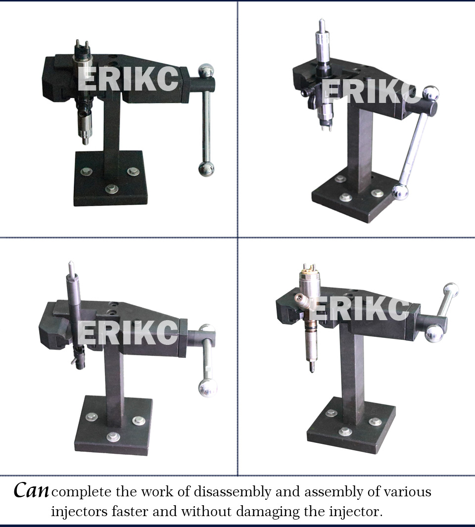 E1023001 common rail injector calibration tool universal dismantling frame Universal removable shelf injector