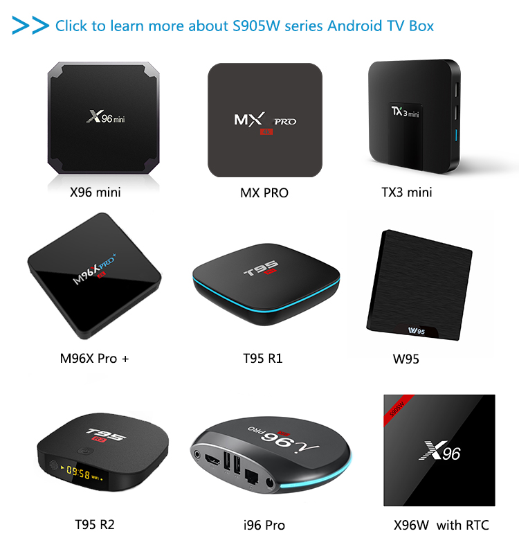 Beautiful Design I96 Firmware Update S905w Android7 1 Tv Box With