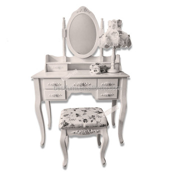 Turkish Style Furniture Makeup Vanity Table Set Hot Selling In The