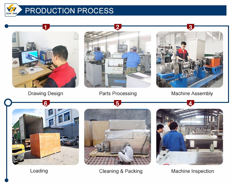Industrial Stainless Steel Pregelatinized Modified Starch Processing Machine