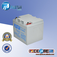 Pustun PST38-12 solar rechargable storage with 12V 38Ah Gel battery