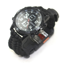 Outdoor camping <span class=keywords><strong>paracord</strong></span> survival <span class=keywords><strong>horloge</strong></span> wandelen afstand laser <span class=keywords><strong>horloge</strong></span> oplaadbare survival <span class=keywords><strong>paracord</strong></span> <span class=keywords><strong>horloge</strong></span>