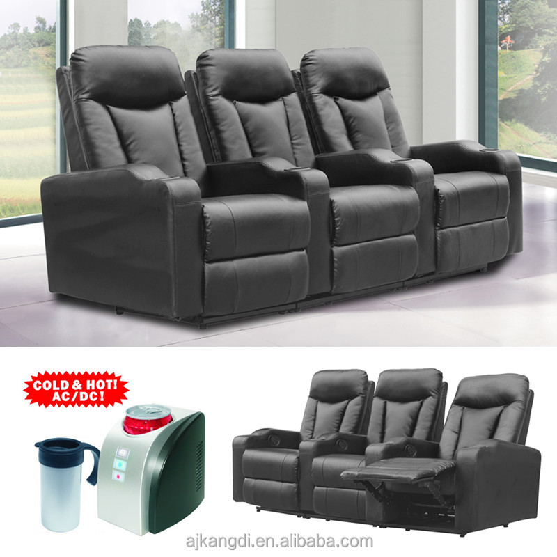 folding cinema recliner chairhome theater chair with cup holder cuo coolercinema chair, View recliner chair, KD Furniture Product Details from Anji