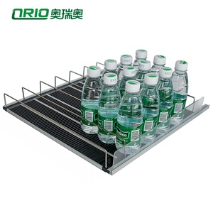 High Quality Gravity Feed Shelving For Beverage Cooler Supermarket Pusher System Tray