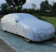 Silver Color Car Parking Cover Camouflage Style 190T Waterproof Anti UV Sunscreen Protection Fast Car Cover