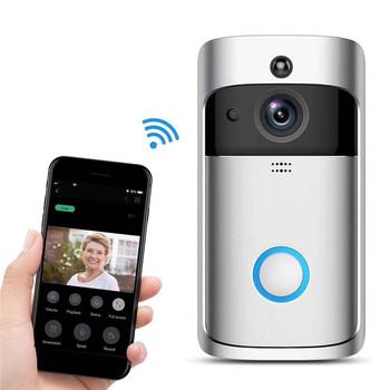Factory Hot Sale Ring Wi Fi Enabled Video Doorbell In Satin Nickel