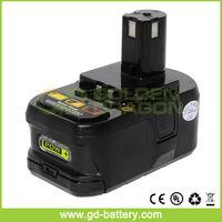 Ryobi 18V power tool battery, Ryobi 3.0Ah Lithium Battery