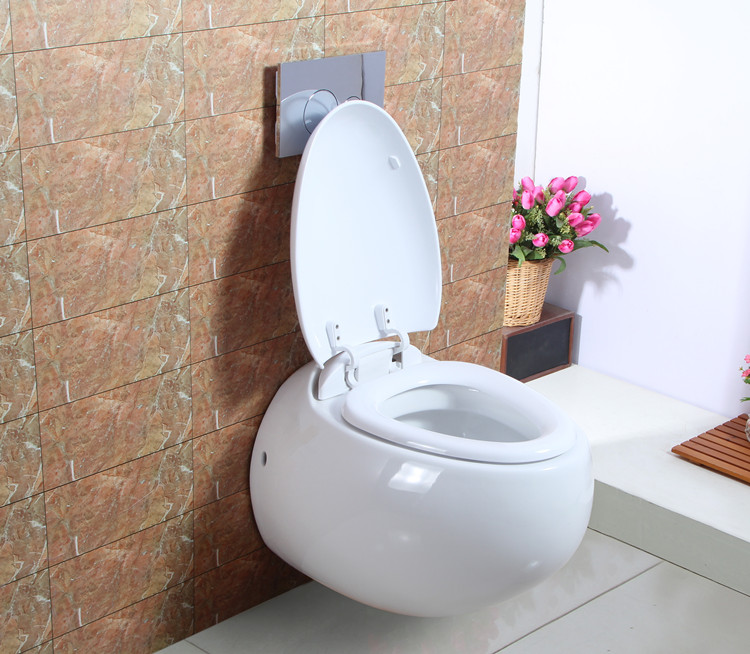 Stupendous Hot Sale Wc Sanitary Wares Egg Shape Wall Mounted Toilet Buy Wall Mounted Toilet Egg Shape Wall Mounted Toilet Toiilet Product On Alibaba Com Bralicious Painted Fabric Chair Ideas Braliciousco