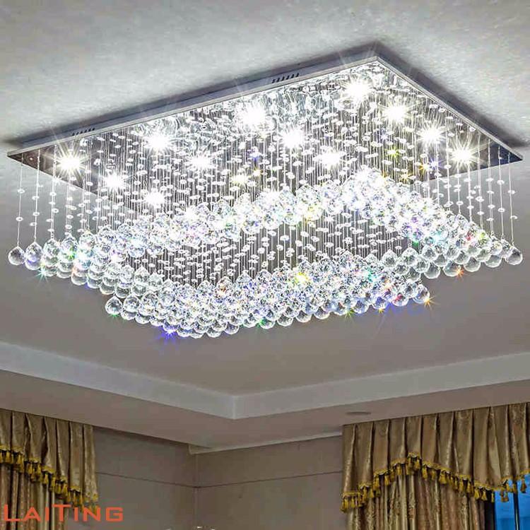 Grande lampadario moderno luce lampada a sospensione per soggiorno ...