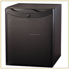 40 litre black mini glass solar mini fridge