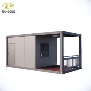 patio portable container house with kitchen and bathroom
