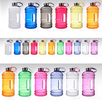 2.2L BPA free PETG plastic water jar with handle